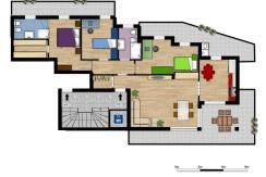 Palazzo MAESTRO int.4 piano secondo cinque locali