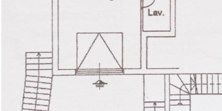 planimetria piano terra garage
