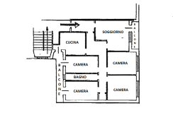 Pescara Tiburtina appartamento 4 camere