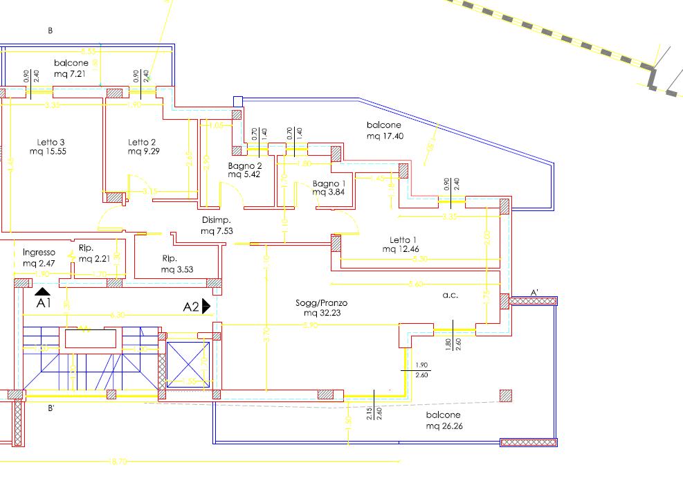 Palazzo maestro interno 2 piano primo cinque locali - Costo ascensore interno 2 piani ...