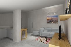 Palazzo MAESTRO interno 5 piano terzo mansardato bilocale
