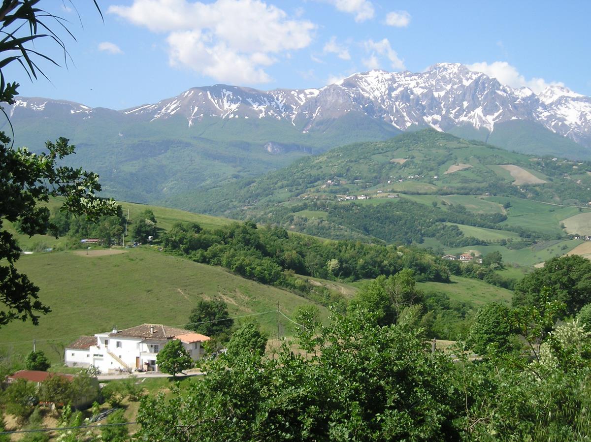 Porzione indipendente a San Giorgio in Castiglione Messer Raimondo