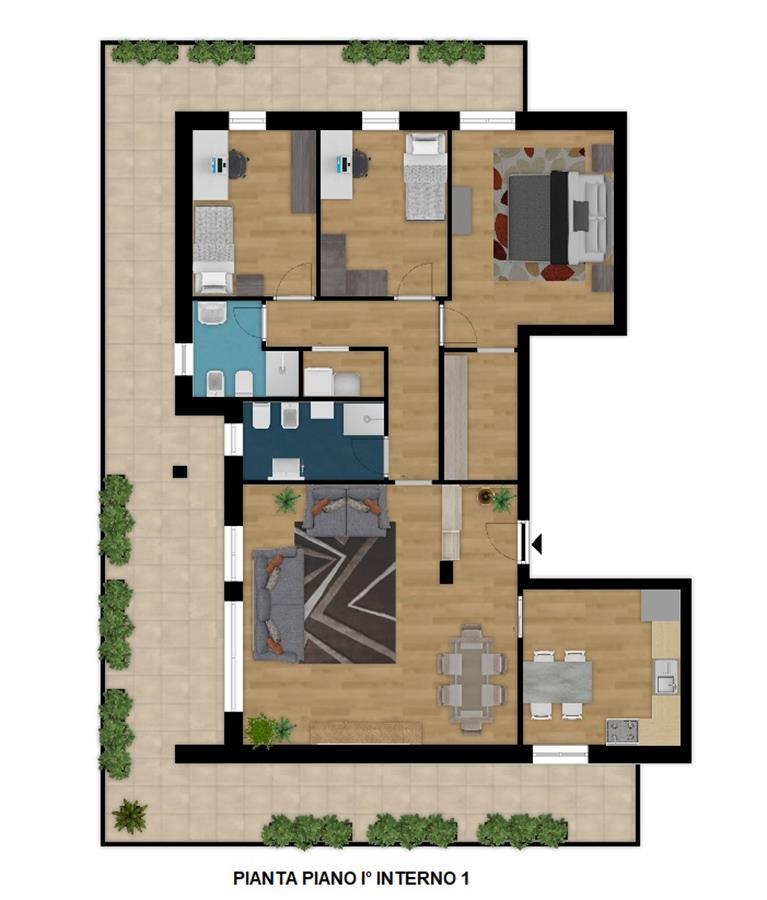 Palazzo LITHOS  appartamento 5 locali