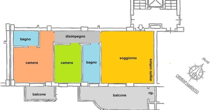 Realizza Casa - Residence Turenum Montesilvano Trilocale Arredato a Reddito 17