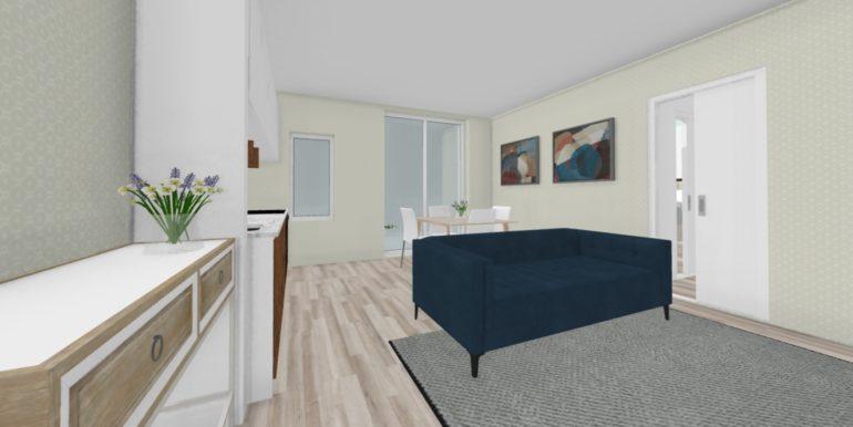 2 locali 3D sala