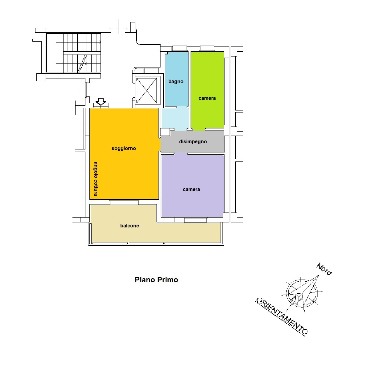 Residence Turenum Montesilvano Trilocale a Reddito