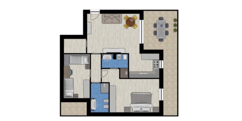 Realizza Casa 4 LOCALI 4° Piano Attico Mansardato 08